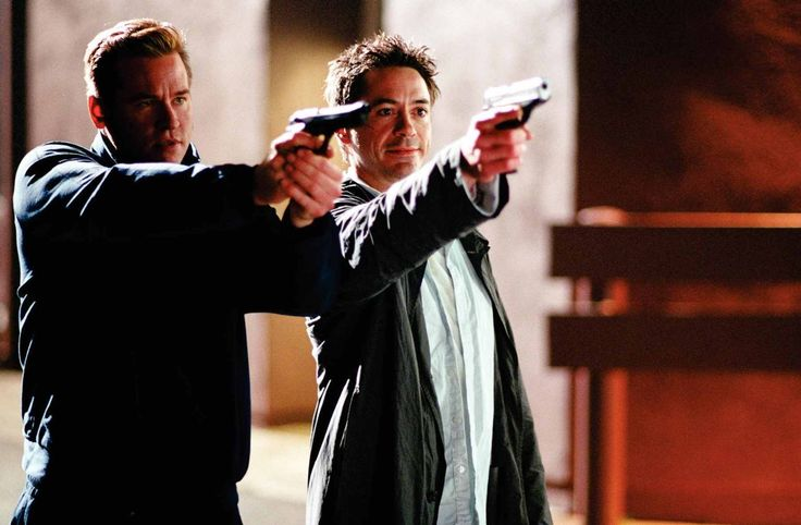 Kiss Kiss Bang Bang (2005) - Val Kilmer and Robert Downey Jr.
