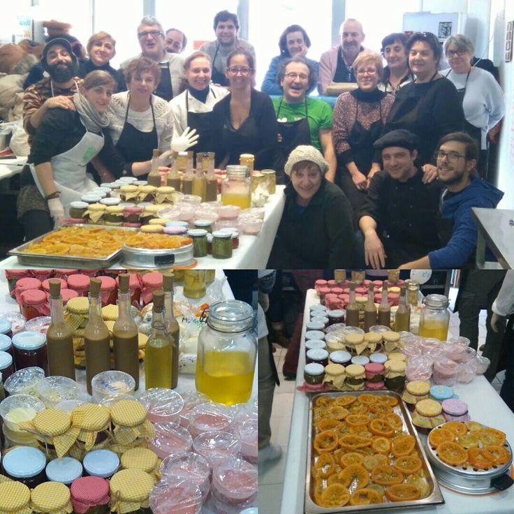 Actividades taller 2016 Soria: Alumnos del curso y todos los productos que elaboraron en el curso.