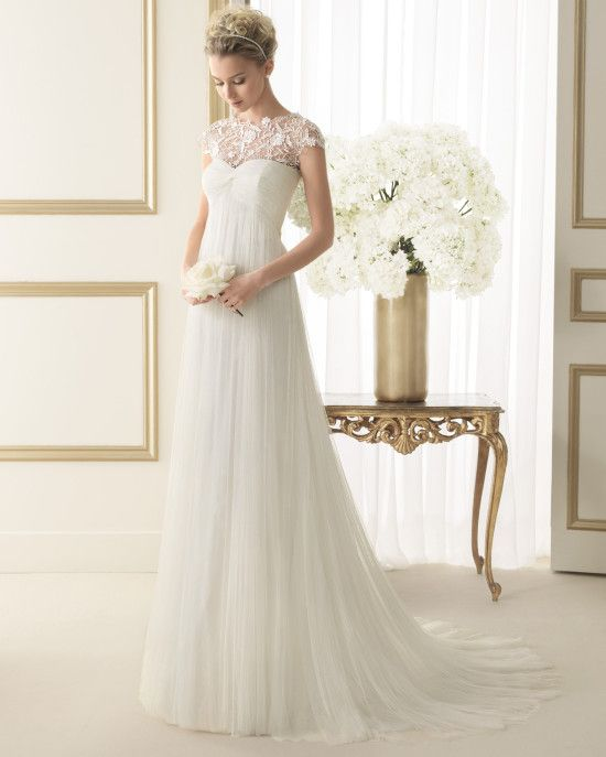 Wedding dress by Luna Novias