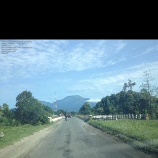 Mount Talamau and Bridge of Masang, Pasaman Barat, West Sumatera