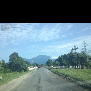 Mount Talamau and Bridge of Masang, Pasaman Barat, West Sumatera