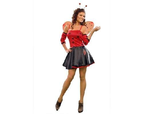 tu mejor disfraz de lady mariquita mujer bt este disfraz te convertir en la chica ms