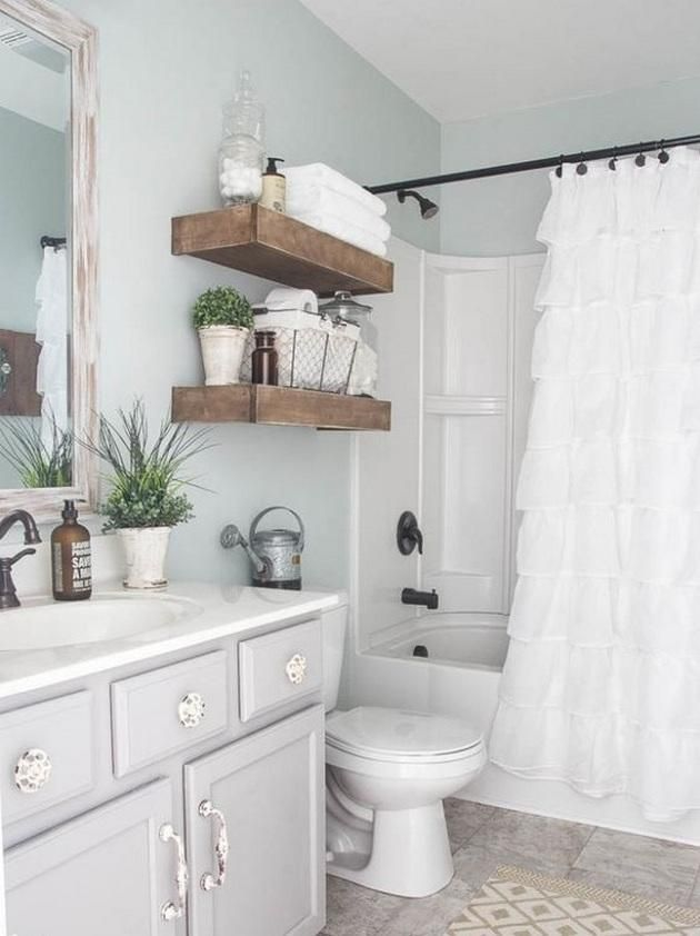 100 Captivating Small Farmhouse Bathrooms And Easy Tips Decor