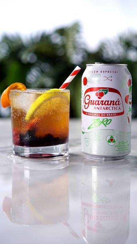 Frutas vermelhas e Guaraná Antarctica Zero formam a combinação perfeita para um drink delicioso!   Salve essa receita em nosso aplicativo:  http://link.tastemade.com/HE7m/PAY8H1x2mA