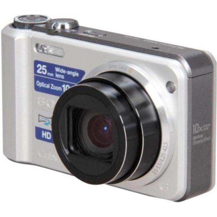 B Sony Cyber-shot DSC-H70-S 16.2 Megapixels Digital Camera - 10x Optical-2x Digital Zoom -3-inch LCD Display - Silver