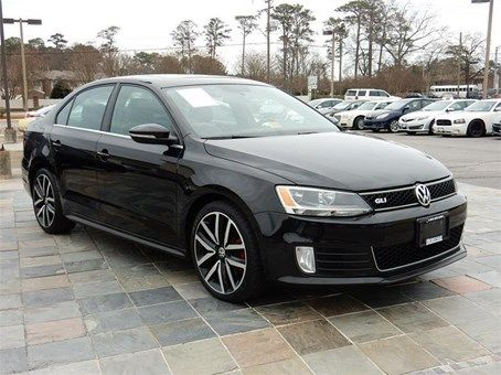 2012 VOLKSWAGEN JETTA GLI  60278 miles, Black exterior color with a Black interior, 2.0L L4 SFI DOHC 16V Engine, Automatic Transmission,
