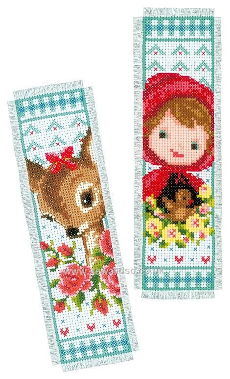 Shop online for Bambi and Red Riding Hood Bookmarks Cross Stitch Kit at sewandso.co.uk. Browse our great range of cross stitch and needlecraft products, in stock, with great prices and fast delivery.