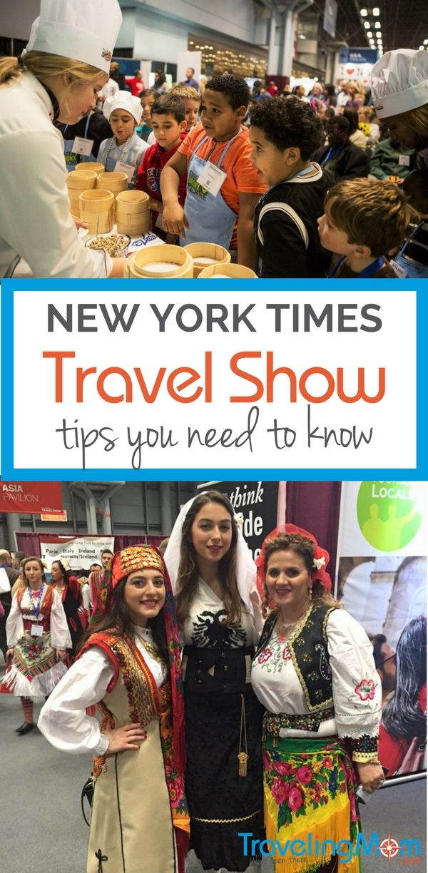 attending york times travel show