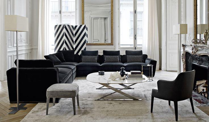 Sofa Febo Maxalto Design By Antonio Citterio Sala