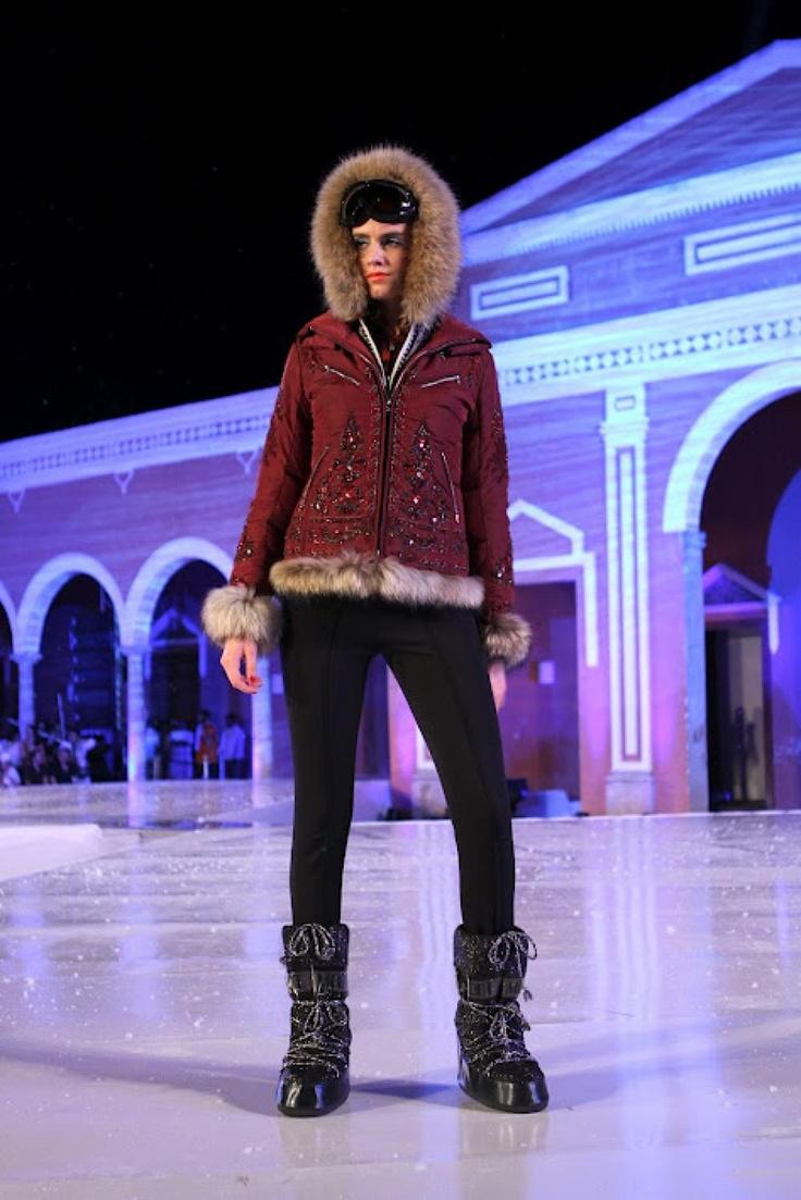 Moda Nextel Ski Fashion Show: Look 2