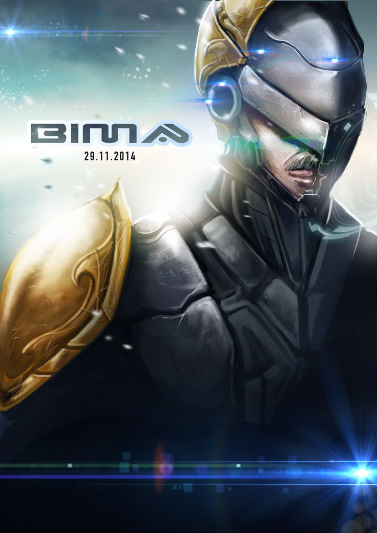 Bima main poster art by me