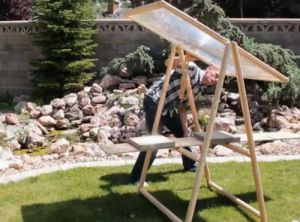 How to Build an $8 Fresnel Lens Solar Concentrator from Old TV