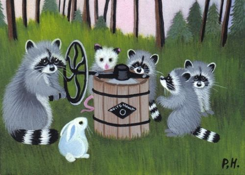 1000+ images about Raccoons and Wolves on Pinterest