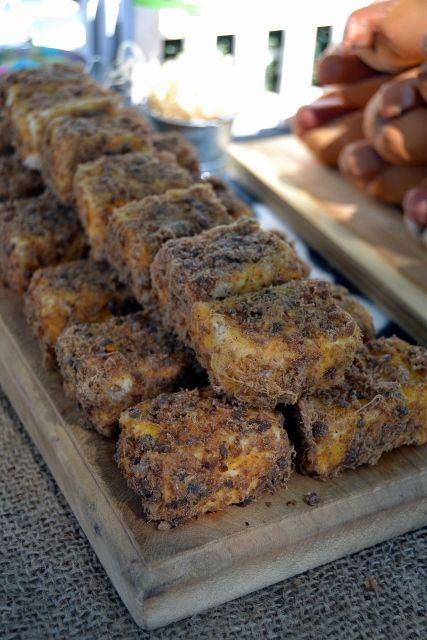 Biltong & Cheese Spread Haystacks