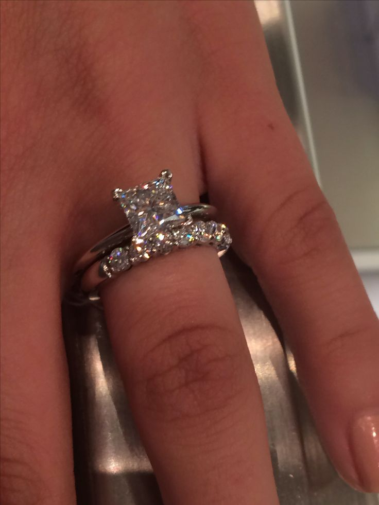 Tiffany's engagement ring. Literally perfect