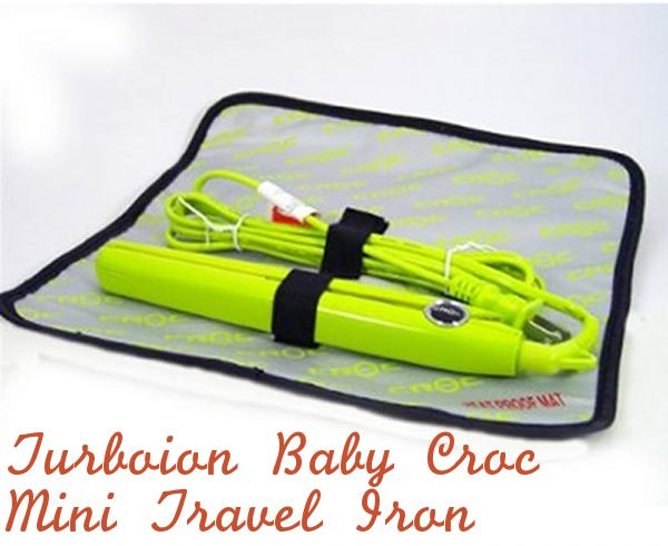 amazon sells these baby croc mini hair straighteners that are dual voltage for $15-$30!