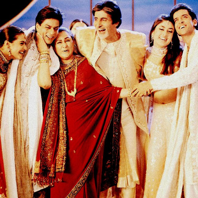 Khabi kushie khabi gham... i want a family wedding picture like this