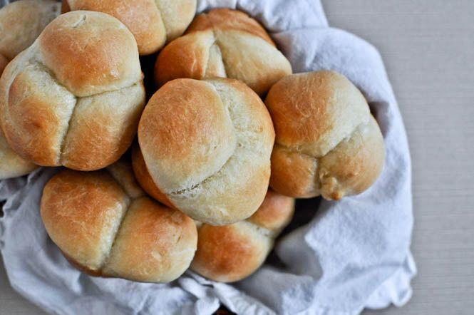Homemade Cloverleaf Rolls   Butter, Homemade rolls and Homemade