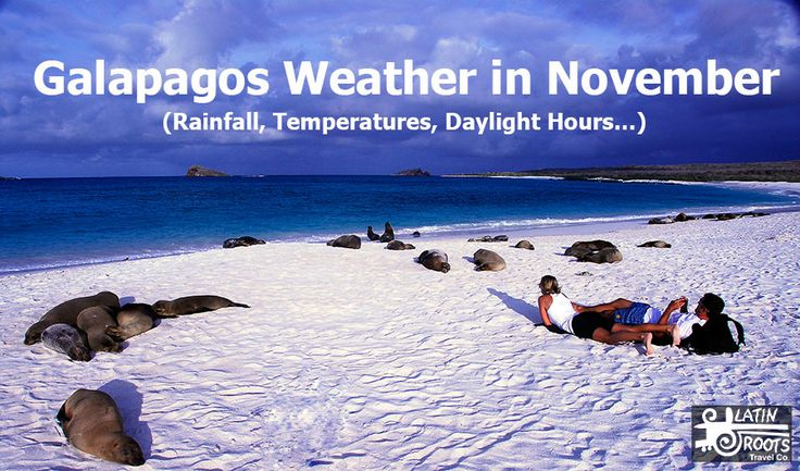 Galapagos Weather in November (Rainfall, Temperatures...)