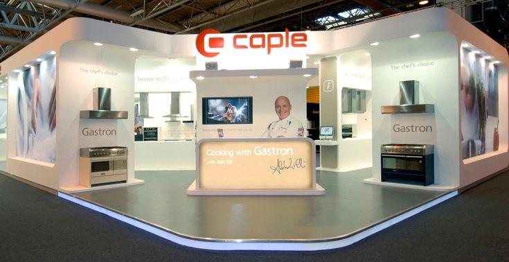 Caple exhibition stand at KBB, NEC, Birmingham