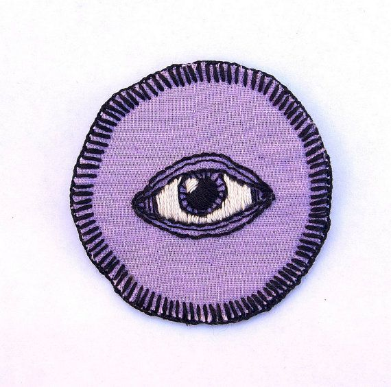 Hey, I found this really awesome Etsy listing at https://www.etsy.com/listing/166765839/all-seeing-eye-hand-embroidered-25-black