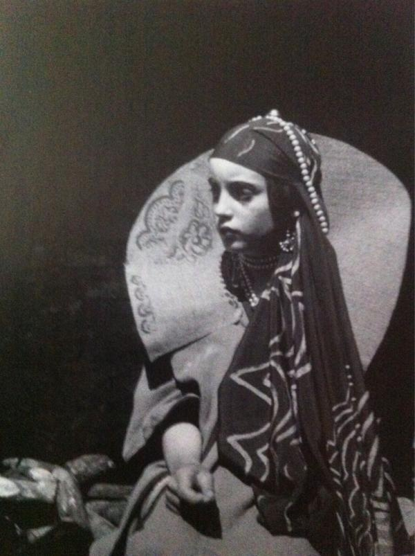Angelica Bell Garnett as a child as the Russian Princess from Orlando (courtesy of Colin Dickey)
