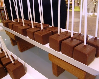 Chocolate coated cheesecake pops | Wayy in the future wedding ideas ...