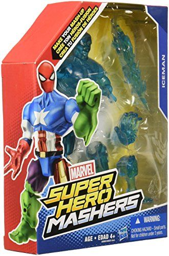 Marvel Super Hero Mashers Iceman Figure 6Inch ** Read more reviews of the product by visiting the link on the image.