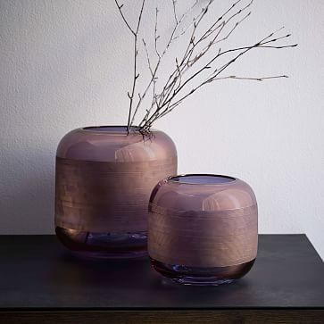 Linework Glass Vases #westelm