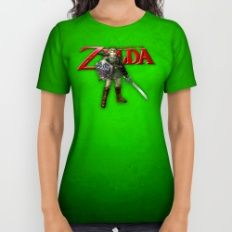 Zelda Sword All Over Print Shirt