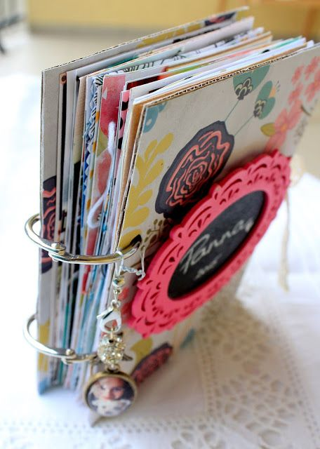 Első mini scrapbook albumom