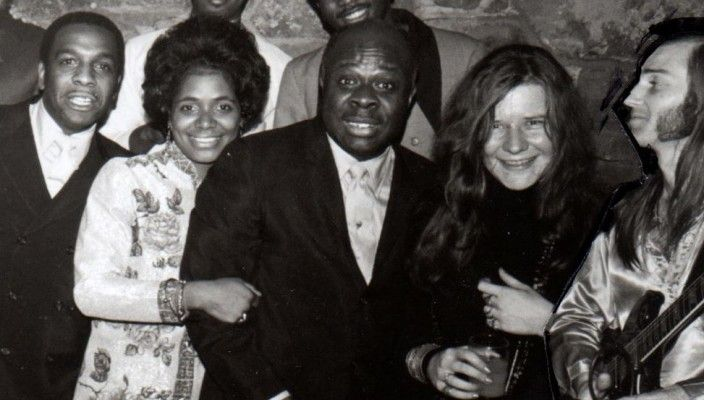 Janis Joplin at Stax Records Christmas Party