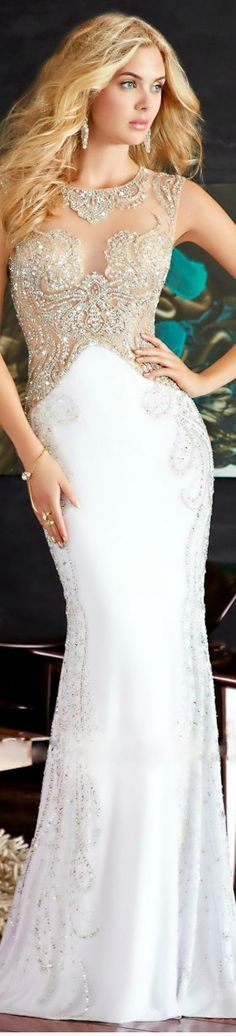 Beaded Dress by Jovani Exclusive Collection