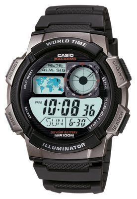 Casio Digital Sports Watch for Men - Black #Fashionwatchesformen
