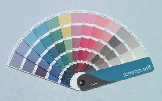 soft summer color palette | SummerSoft in system 16 seassons
