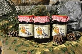 Confettura di mirtillo e mela della Valtellina