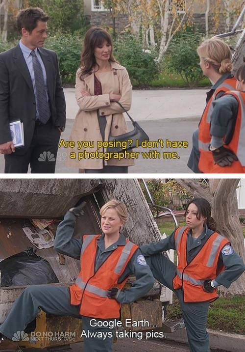 I want to party with the cast of Parks and Rec (23 photos)