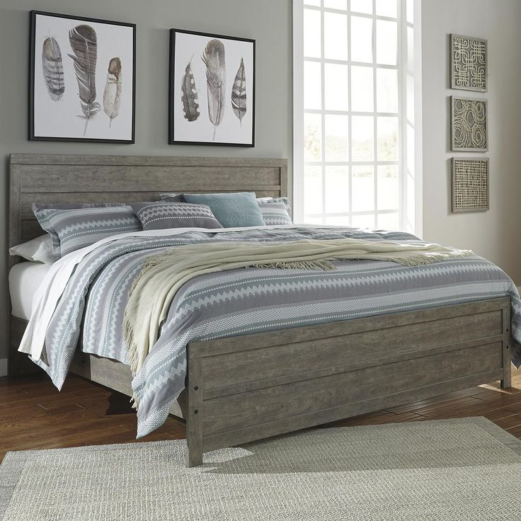 Signature Design by Ashley Culverbach King Panel Bed in