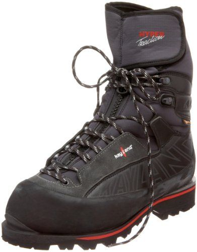 Kayland Unisex Hyper Traction Mountaineering Boot Kayland. $224.98. Textile and suede. eVent waterproof liner lets the sweat out. Vibram Teton outsole. Vibram sole. Primaloft keeps you warm. Automatic crampon-compatible Kayland Vaporlite midsole. Integrated gaiter in waterproof Schoeller Neoprene. Made in Romania