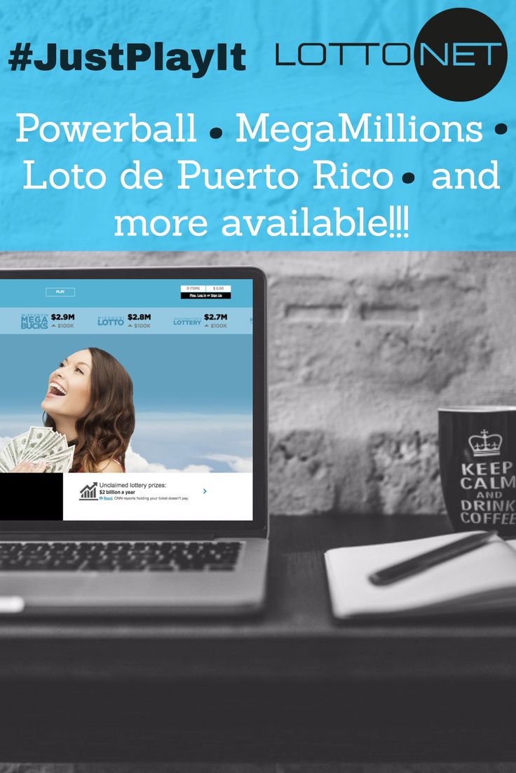 Visit LottoNet and pick your #LOTTO numbers for a chance of becoming a #Millionaire TODAY!! Powerball Mega Millions Loto de Puerto Rico and many more available! www.getlottonet.com