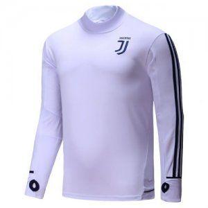 Juventus 2017-18 Season Juve White Training Uniform [K786]