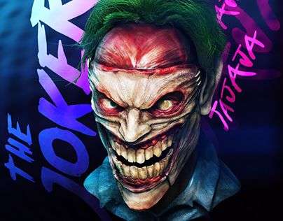 "Check out new work on my @Behance portfolio: ""the joker"" http://be.net/gallery/51240931/the-joker"