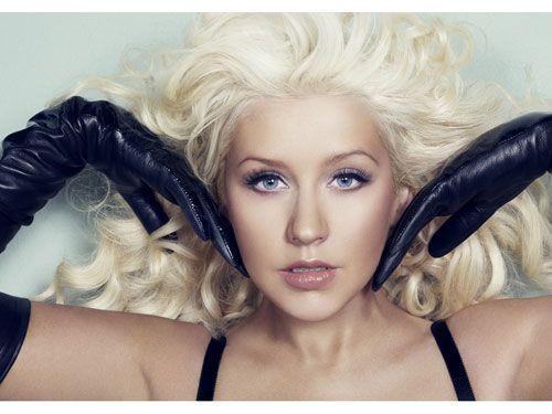 Christina Aguilera, February 2012