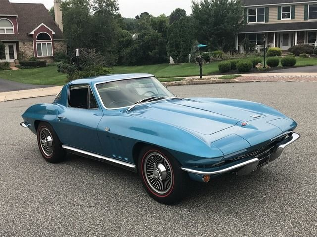 1966 Chevrolet Corvette Dark Blue With Images Classic Cars Chevrolet Corvette Corvette