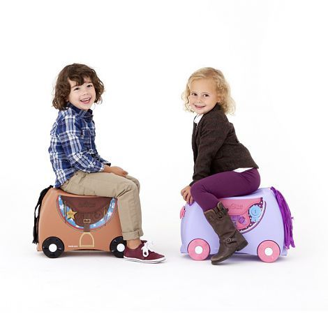Trunki Kids Suitcase - Bronco Horse