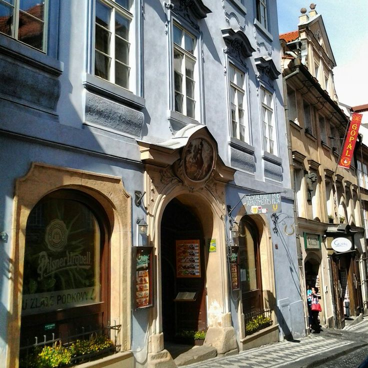 my cool old hotel in nerudova street in mala strana