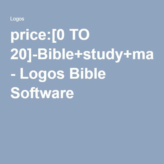 price:[0 TO 20]-Bible+study+magazine - Logos Bible Software