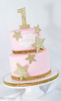 Twinkle Twinkle Little Star first birthday cake                                                                                                                                                                                 More