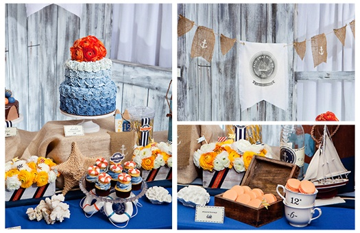 Sweet Creations: Tailored Sweets  Photographer: Siegel Thurston Photography  Designer: Events + Style  Flowers: White Wedding Day Events; Camellia Wedding Flowers; Tiny Twig