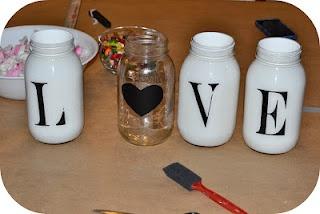 <3Diy Crafts, Arts Crafts, Girl Crafts, Crafts Valentine, Crafts Projects, Mason Jars 3, Crafts Time, Mason Jar Projects